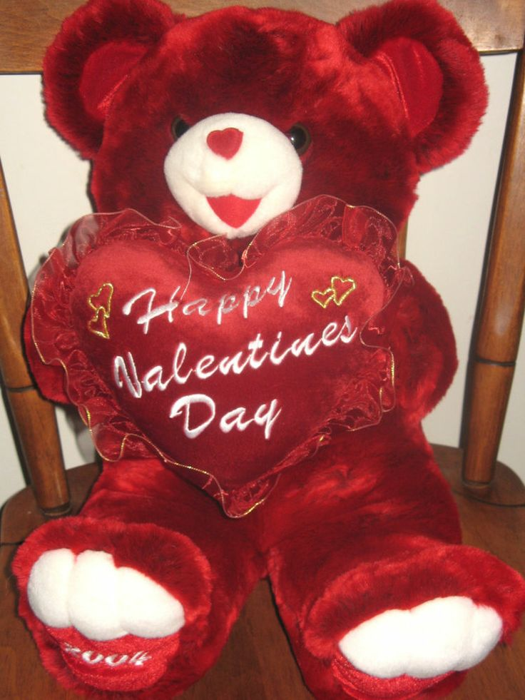 huge valentines day teddy bear cheap