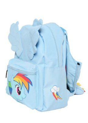 My Little Pony Dash Backpack with Hood:Amazon:Clothing