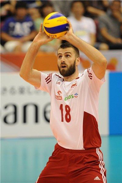 Marcin Możdżonek (#18) - środkowy  Puchar Świata w Piłce Siatkowej Mężczyzn 2015