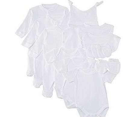Lollipop Lane Unisex Baby 12 PC Starter Set Clothing Set, White, Newborn No description (Barcode EAN = 5060039152106). http://www.comparestoreprices.co.uk/baby-clothing/lollipop-lane-unisex-baby-12-pc-starter-set-clothing-set-white-newborn.asp