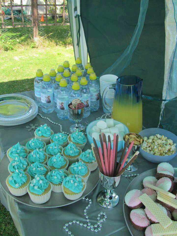 Frozen themed party, The Big Fat Events Company