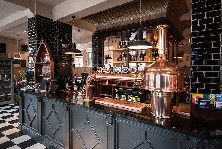 The White Swan Is Portsmouth's First Brewpub And Opened In