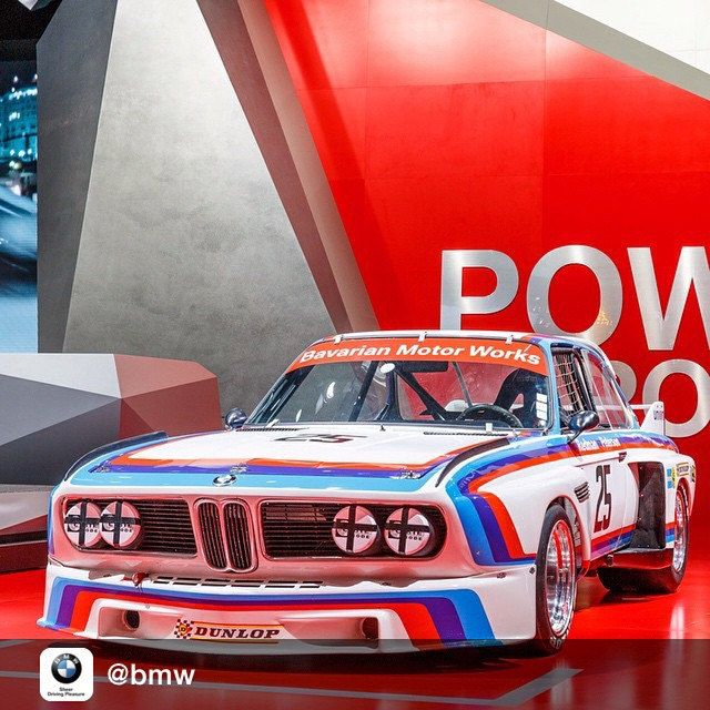 "In the Early '70s many in the US were not familiar with BMW, most not even knowing what the acronym BMW stood for. The company stepped up their racing effort and fitted their 3.0 CSL Coupes with banners over the windscreens, ""Bavarian Motor Works""..."