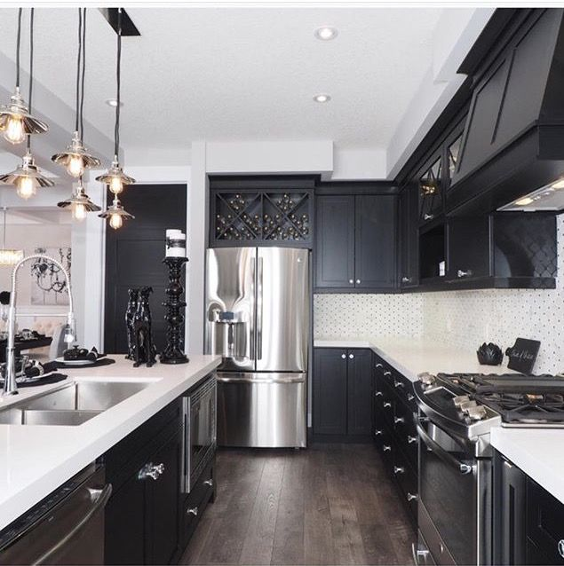 Black Kitchen Floors: Pin By Dolly Urbina On Home