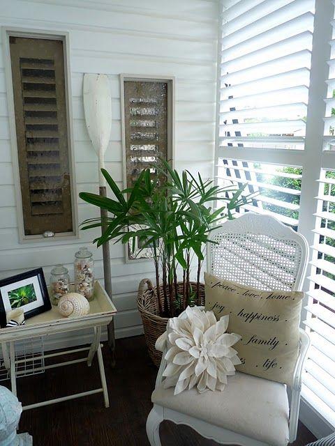 beach house enclosed porch