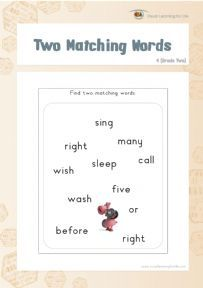 Two Matching Words 4 - Individual File Download