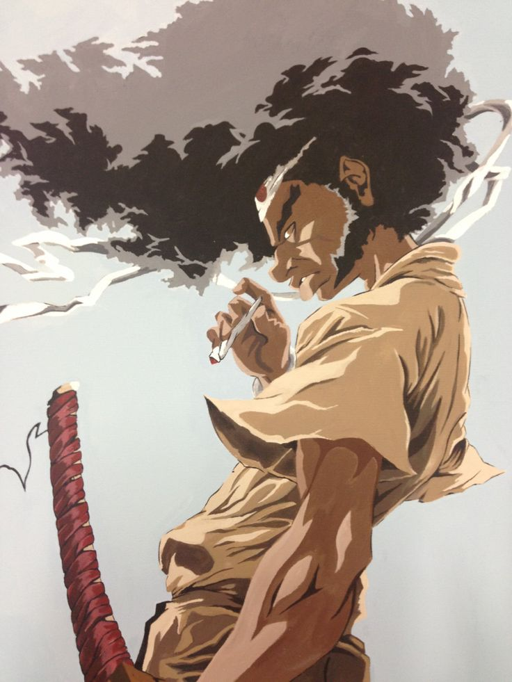 Afro Samurai Fan Art by AbigayleDawn on Etsy