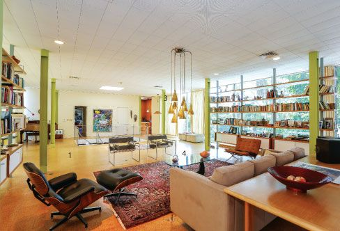 When Robert and Julie Garvin purchased the renowned Philip Hiss Studio on Lido Shore's Westway Drive, they set out to decorate the beautiful...