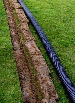 French drain tips