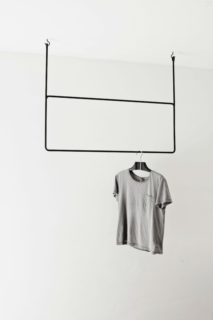 The Minimalist / clothing rail