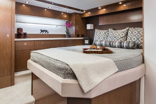 Cruisers Yachts 48 Cantius The Full Beam Master Is The