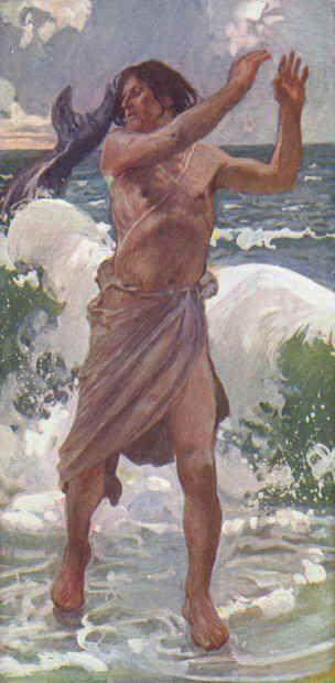 The Prophet Jonah ~ James Tissot - c1888