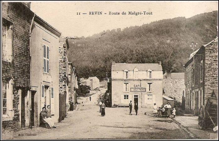 Revin Route De Malgre Tout A Revin Cartes Postales Anciennes