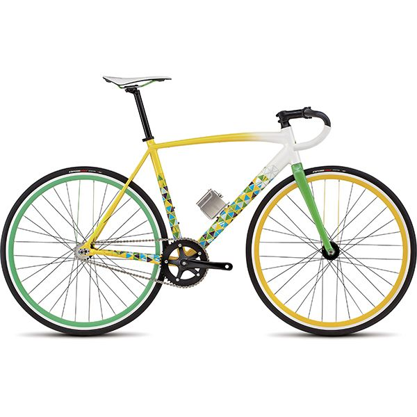 The Langster Rio has everything that you'd expect from a purpose-built track bike, only with a little Brazilian flair cooked in.