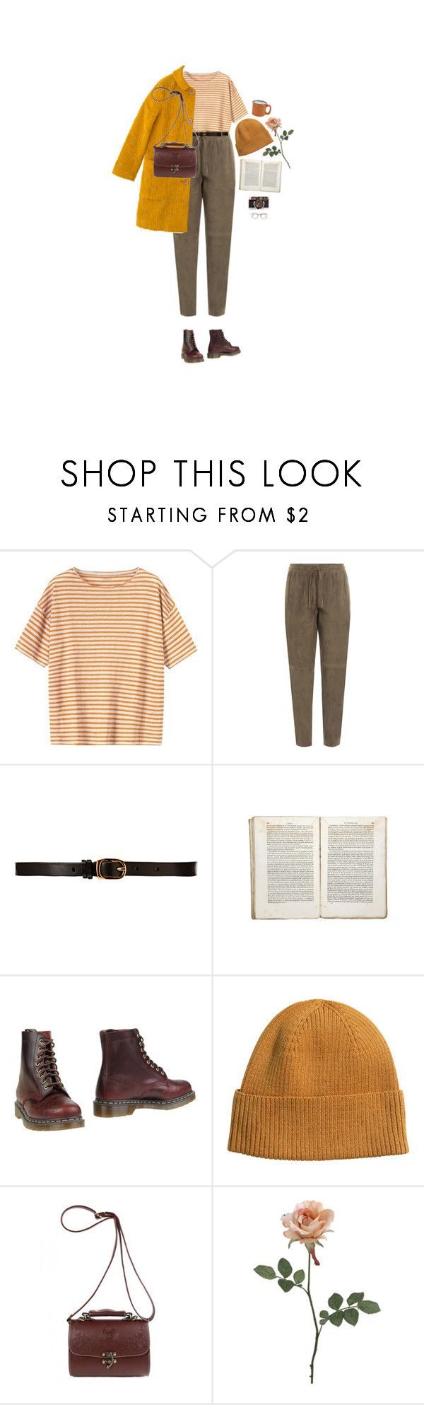 """kauniilla sanoilla minusta"" by hetasdfghjkl ❤ liked on Polyvore featuring Toast, Joseph, CO-OP Barneys New York, Jayson Home, Sally Scott, Dr. Martens and H&M"