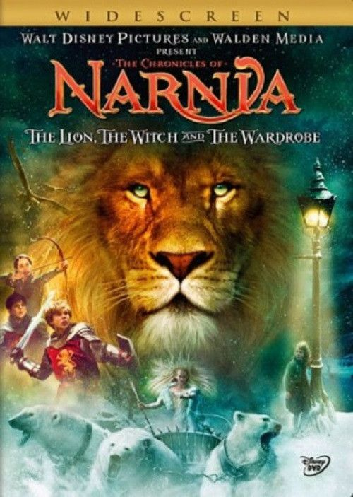 THE CHRONICLES OF NARNIA: THE LION THE WITCH AND THE WARDROBE DVD