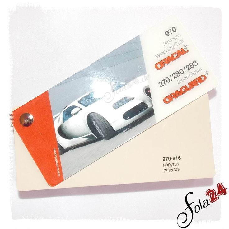 816 papyrus glänzend (ca. RAL 1014 ) - Oracal 970 Premium Wrapping Cast - Autofolie - Car Wrapping Folie kaufen bei Fola24.com