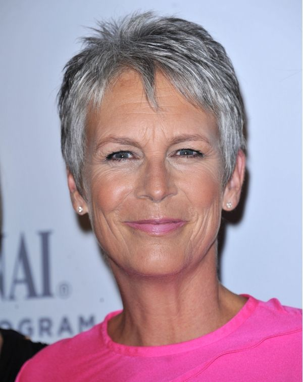 Jamie Lee Curtis.  Such frank expression; you KNOW she's going to say what she really thinks!