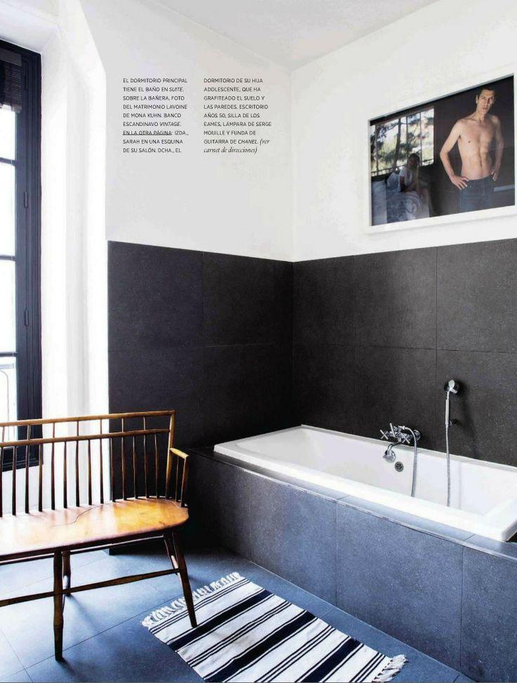 contemporary style bathroom featured in elle decor france - Bathroom Ideas Elle Decor