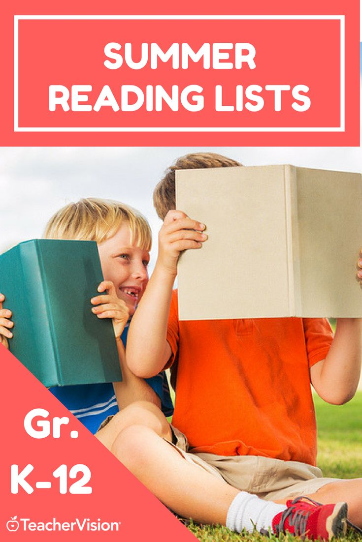 From kindergartners to high schoolers, literature to non-fiction, there's something for every student on TeacherVision's 20+ summer reading lists.