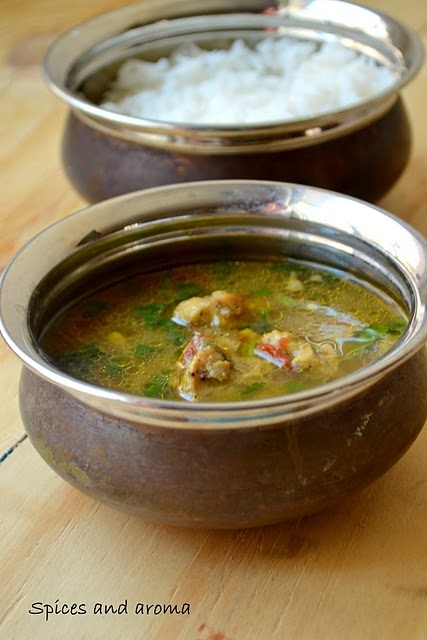 South Indian Chicken Rasam Soup -- Wake up the natural flavors in your food with Ac'cent - accentflavor.com #soup #chicken #indian