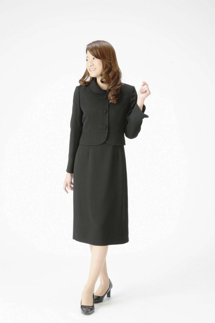 Amazon: (マーガレット)marguerite 4-682 ブラックフォーマル レディース アンサンブル 礼服