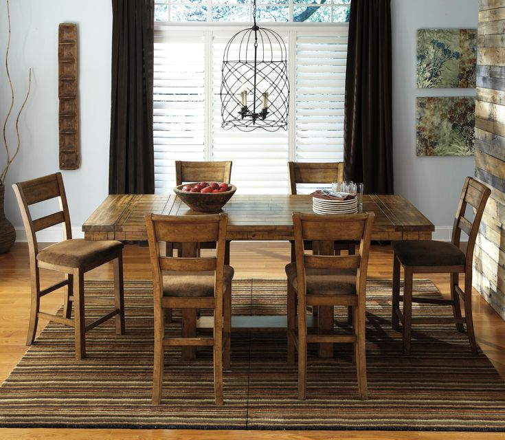 Furniture City Dining Room Suites: Table Settings, Banquettes And Counter Height Dining