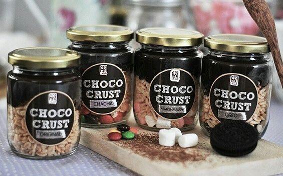 Choco Jar With Various Type Of Topping Choco Jar Choco Premium Ingredients