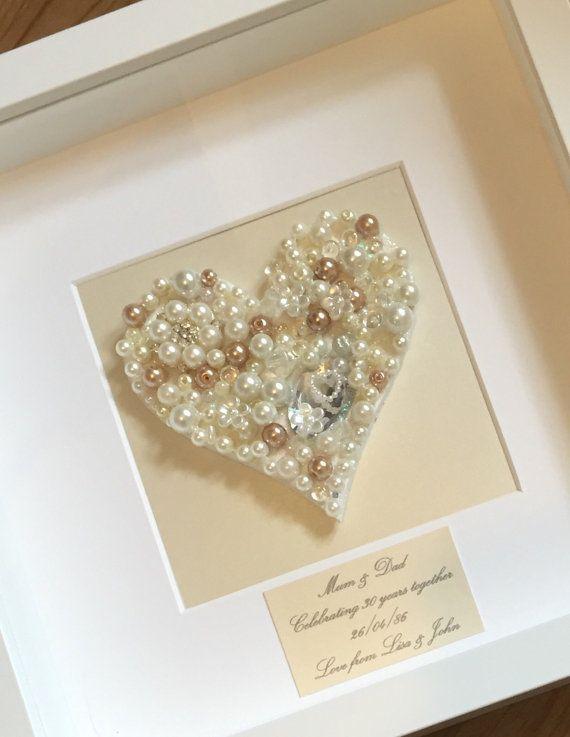 Best 25 Pearl Wedding Anniversary Gifts Ideas On Pinterest