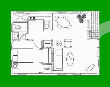 287 best images about small space floor plans on pinterest for Small casita floor plans