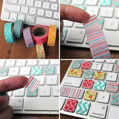 20 divertidas y creativas ideas para decorar con washi tape