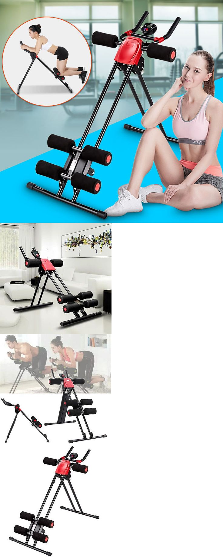 Abdominal Exercisers 15274: Finether Ab Cruncher Abdominal Trainer Glider Machine Fitness Exercise Equipment -> BUY IT NOW ONLY: $49.59 on eBay!