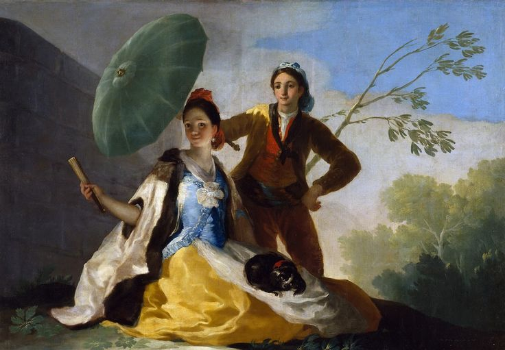 Francisco Goya: The Parasol [1777]