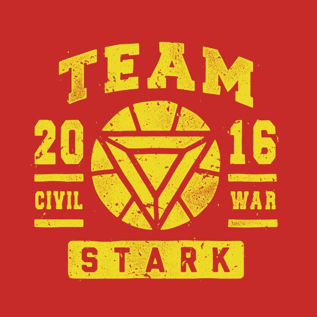 TEAM STARK T-Shirt - Iron Man T-Shirt is $11 today at TeeFury!