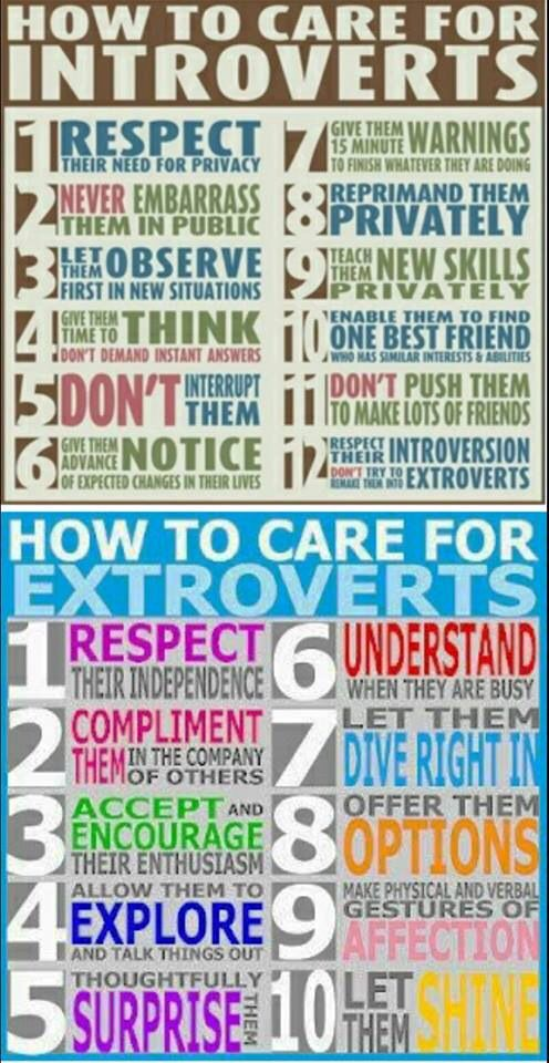 Truth about introverts dating extroverted