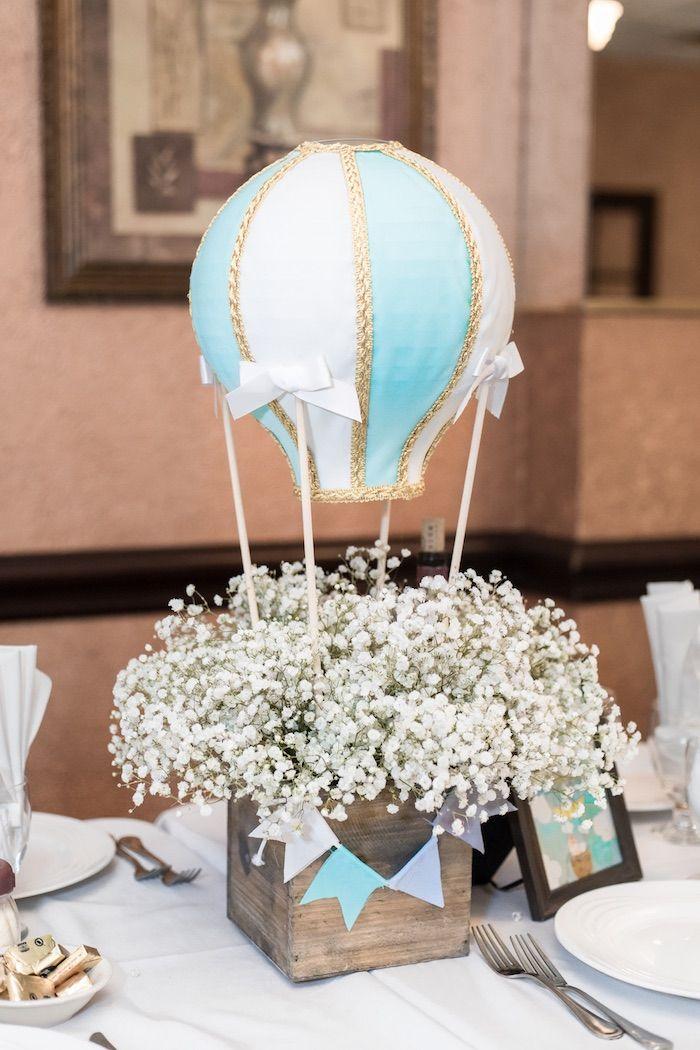 Pin By Anessa Shiue On Handmade Hot Air Ballon Baby Shower Hot