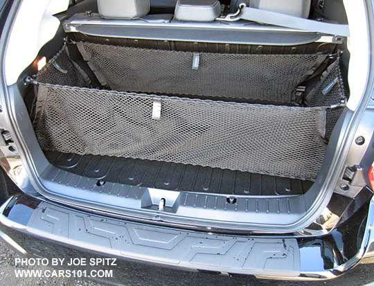 2016 xv crosstrek white roof rack   2015 Subaru Crosstrek optional cargo nets…
