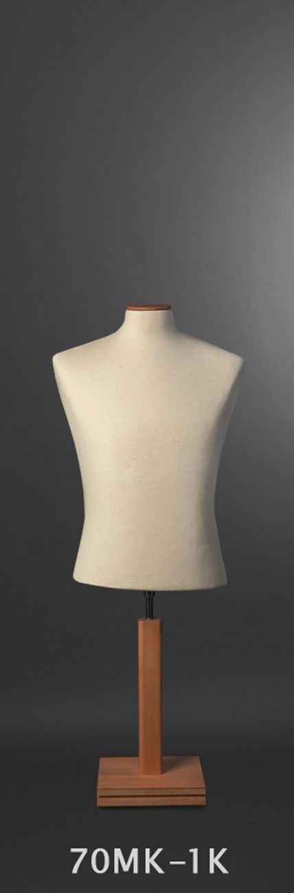 Male Bust Form - short body