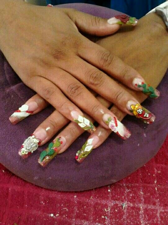 24 best uñas Mexicanas images on Pinterest | Mexican nails, Mexicans ...