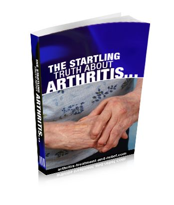 Inside secrets to arthritis treatment and arthritis pain relief.