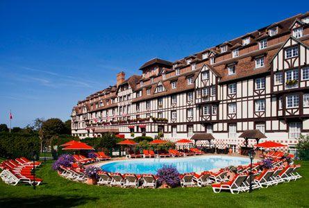 Hôtel du Golf Barrière Deauville, promo hotel luxe, Hôtel du Golf Barrière prix promo Deauville Hôtels Barrière à partir 135,00 € TTC au lieu de 180,00 € la Nuit