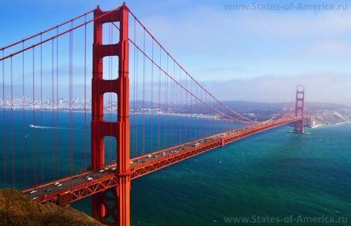 Знаменитый мост - Золотые Ворота