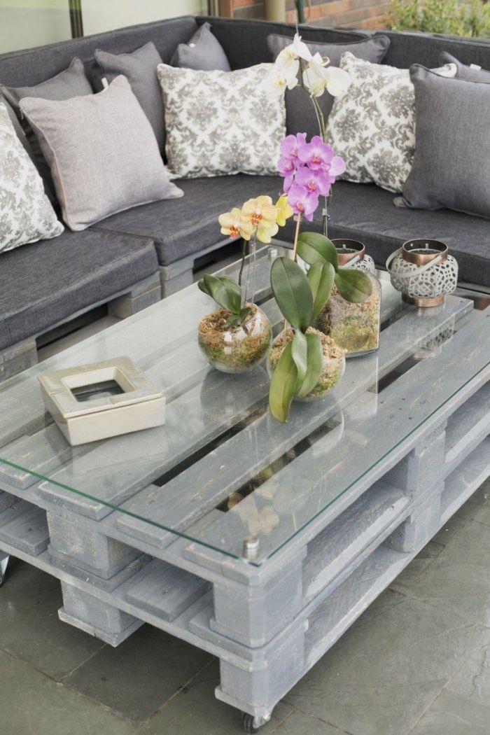 1001 Idees Brico Pour Realiser Une Table Basse En Palette Table Basse Palette Table Basse Table Basse Exterieur