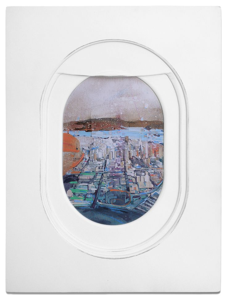 Jim Darling's Paintings Move Us Into The Passenger's Seat | iGNANT.de