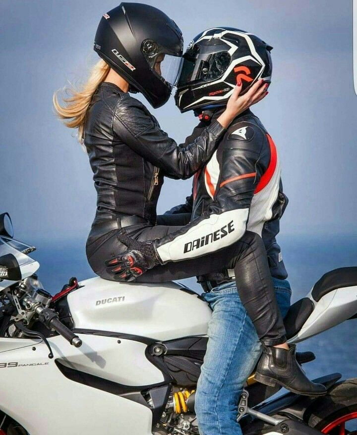 from Chad sexy couple on motorcycle