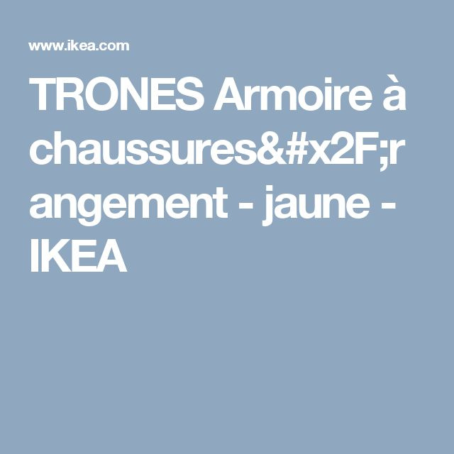 17 best ideas about armoire a chaussure ikea on pinterest - Armoire chaussures ikea ...