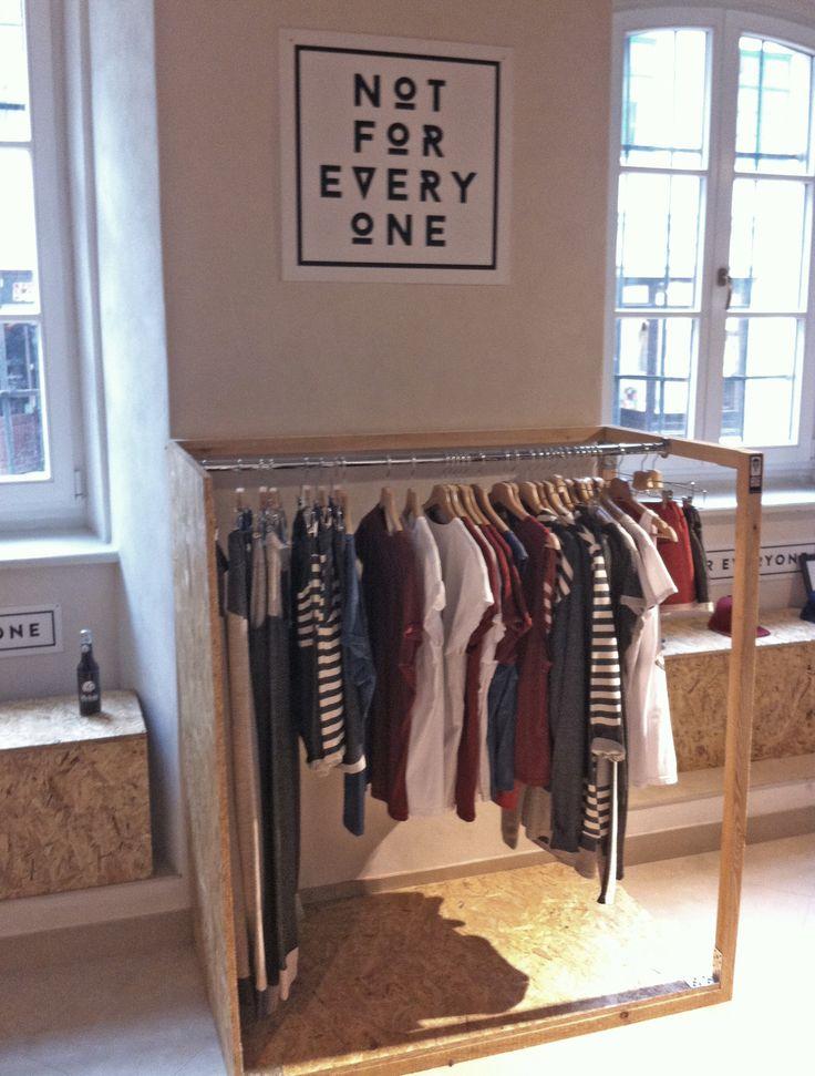 No.Excuse streetwear - pop up shop interior design