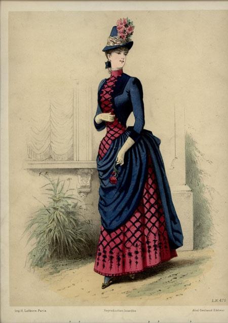 Mid 1880s engravings