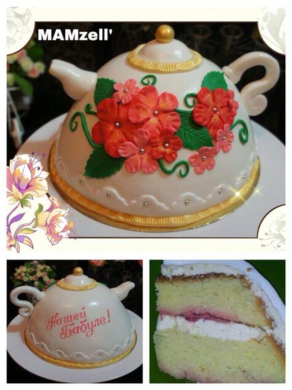 Чайник-торт