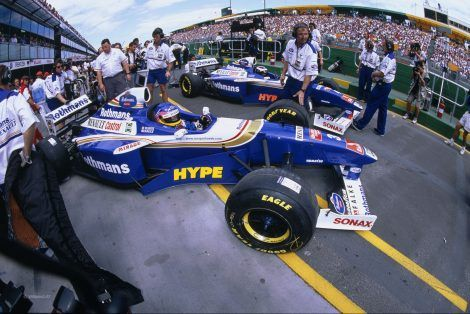 Jacques Villeneuve, Heinz-Harald Frentzen, Williams, Melbourne, 1997